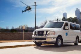 Long distance patient transport vehicle